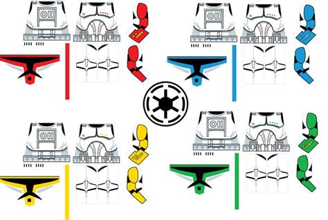 index  clone decal templates lego minifig decal