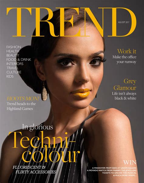 Trend Magazine Aug/Sept 2017 by Trend Productions Ltd. - Issuu