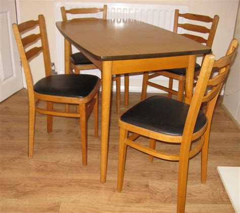antiques atlas retro formica table chairs set