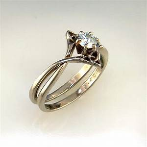 interlocking wedding set with diamond wedding wedding With interlocking wedding ring sets