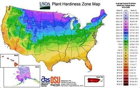 Usda Plant Hardiness Zone Map  Watters Garden Center