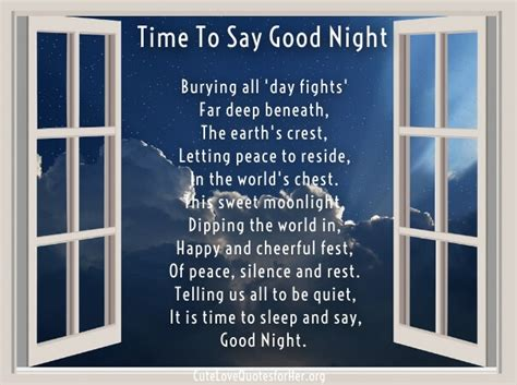 good night love poems      romantic images