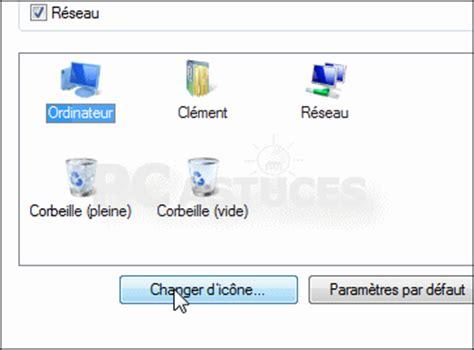 agrandir icones bureau modifier les icônes système du bureau windows vista