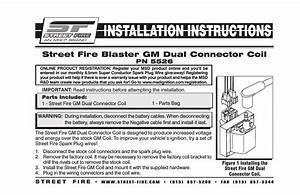 Msd 5526 Gm Dual Connector Coil  Street Fire Installation