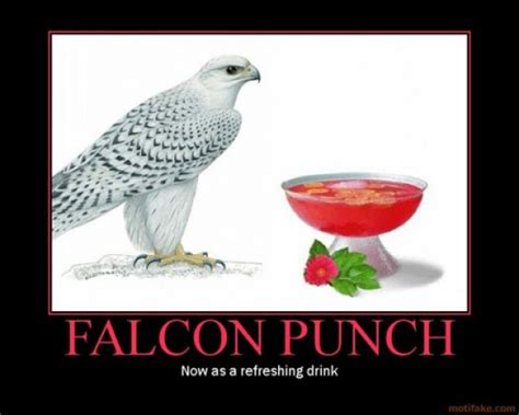 falcon punch meme guy