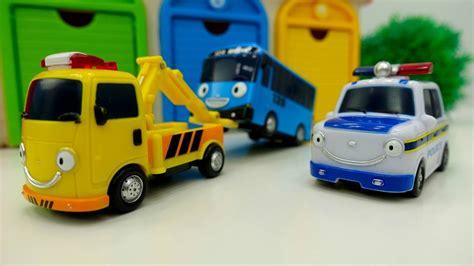 Tayo Toys. Traffic Light Toy Cars Videos.