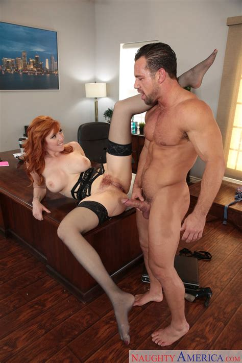 Red Haired Babe Got A Good Fuck Photos Lauren Phillips Johnny Castle Milf Fox