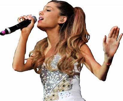 Ariana Grande Singing Sing Picsart