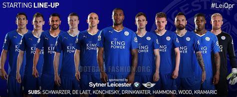 Leicester City FC 201516 PUMA Home Kit  FOOTBALL FASHIONORG