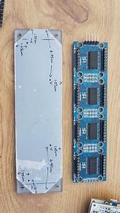 Led Matrix Ntp Clock With Ds3231  Bme280  Bh1750  U0026 Esp01