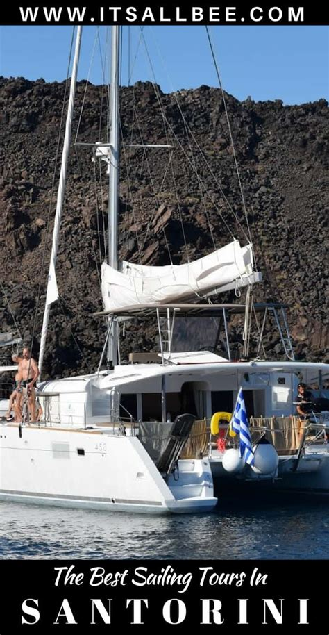 Catamaran Sailing In Santorini by Sailing Santorini The Best Catamaran Tours In Santorini