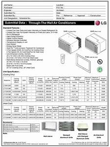 Download Free Pdf For Lg Lt101cnr Air Conditioner Manual