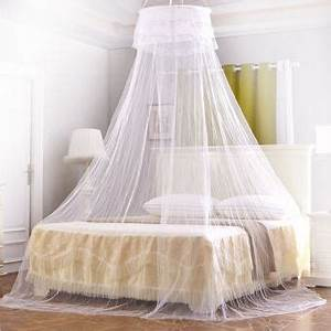 Moustiquaire Ciel De Lit : moustiquaire ciel de lit baldaquin pour lit double ~ Dallasstarsshop.com Idées de Décoration