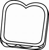 Peanut Butter Clipart Bread Sandwhich Jelly Transparent Template Jif Sandwich Coloring Clip Graphics Webstockreview sketch template