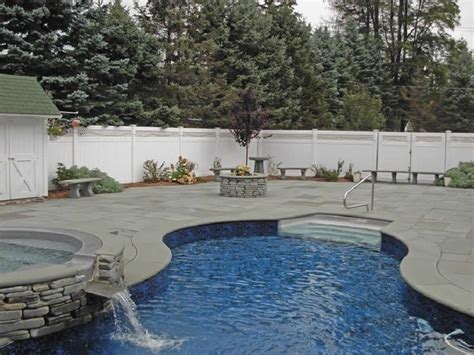 bluestone pavers pool coping tiles with a sawn or honed