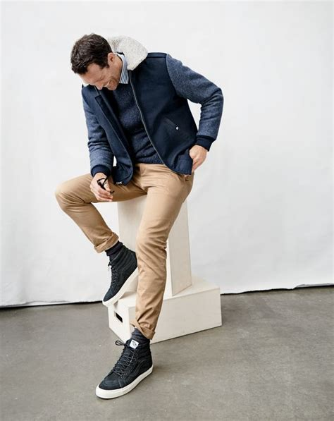 basket montant homme luxe j crew s wallace barnes sherpa collar bomber jacket sweater ludlow shirt in midnight sea
