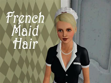 ayas af french maid hair