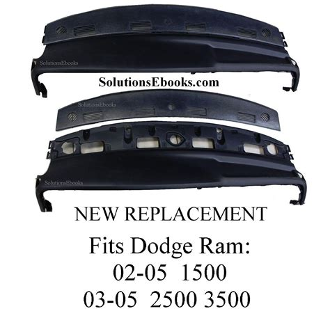 2003 Dodge Ram Dash Replacement by Buy 2002 2005 Dodge Ram 1500 Replacement Dashboard Top