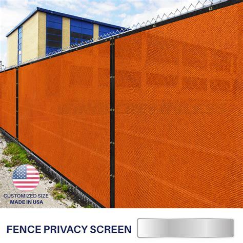 customize 4 h fence privacy screen windscreen mesh
