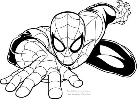 disegni  spiderman da colorare spiderman disegni da