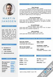 cv resume template in word fully editable files incl 2nd With curriculum vitae template word