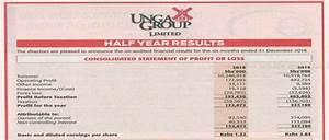 Unga Group issues Profit Warning for its Full Year 2016 ...