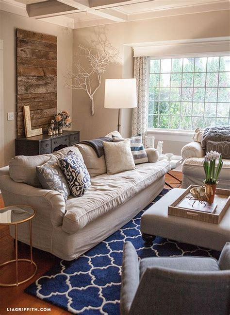 picture yourself in a living room my home tour my living room in navy and gold living