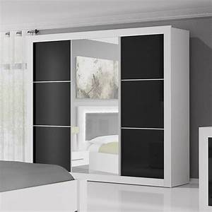 Armoire Noir Laqué : armoire design noire ~ Teatrodelosmanantiales.com Idées de Décoration