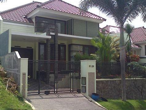 tampak depan rumah mewah  lantai arsitektur rumah