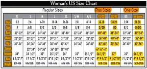 Plus Size Charts Clothing Plus For Less