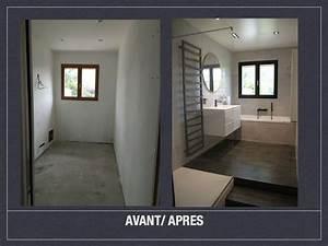 Fenetre Dans Douche : salle de bains design gris noir blanc h tel luxe ~ Melissatoandfro.com Idées de Décoration