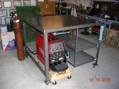 steel welding table plans homemade welding table welding tables carts