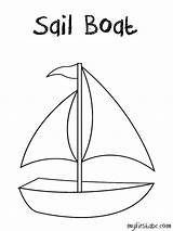 Coloring Boat Sailboat Sails Printable Designlooter Voilier Coloriage Coloriages Inside Transport Album Bulletin Board Adults sketch template