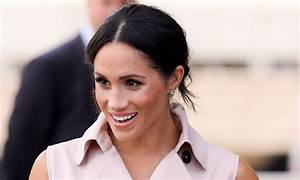 Meghan Markle and Prince Harry co-ordinate for sunny ...