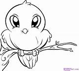 Coloring Pages Bird sketch template