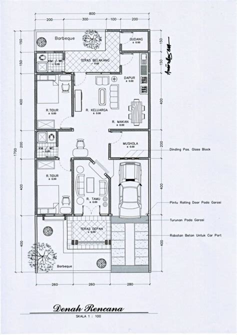 model denah rumah minimalis   lantai minimalis
