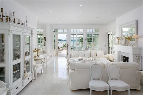 livingroom furniture sale white luxury house by the sea