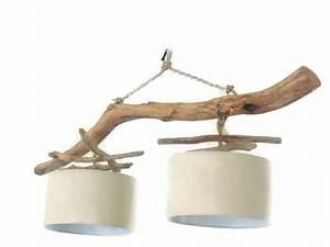 Lustre En Bois Flotté : lustre bois flott bricolage maison et d coration ~ Dailycaller-alerts.com Idées de Décoration
