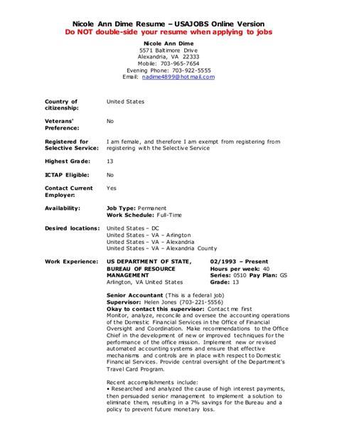 Usa Resume Builder by Usa Resume Builder Exle