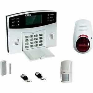Systeme De Securité Maison : pack alarme sans fil accessoires evolu7 gsm 1 pc s ~ Dailycaller-alerts.com Idées de Décoration