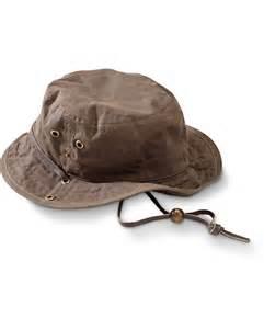 Waxed Cotton Bucket Hat | Eddie Bauer | Dream closet ...