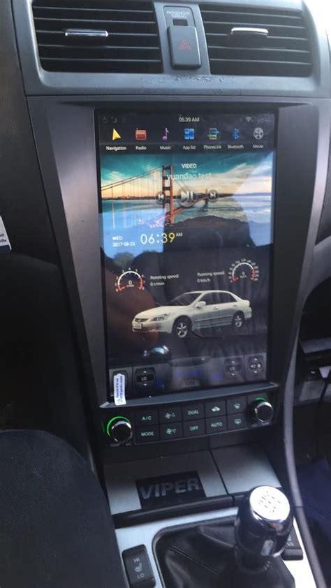 tesla vertical touch screen  dash car dvd auto gps