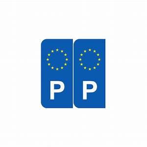 Immatriculation Europe : stickers europe p portugal pour plaque d 39 immatriculation ~ Gottalentnigeria.com Avis de Voitures