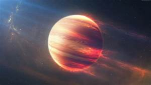 Wallpaper Space Fire Planet, Exoplanet, Planet, space ...