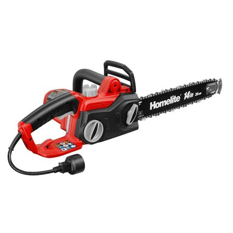 homelite reconditioned    amp electric chainsaw