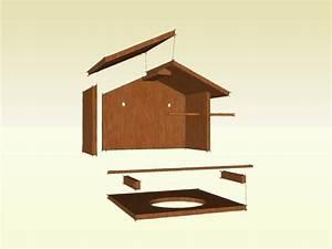 Vogeltränke Selber Bauen : bauanleitung f r eine berdachte vogeltr nke bird feeder vogelhaus futterhaus ~ Orissabook.com Haus und Dekorationen