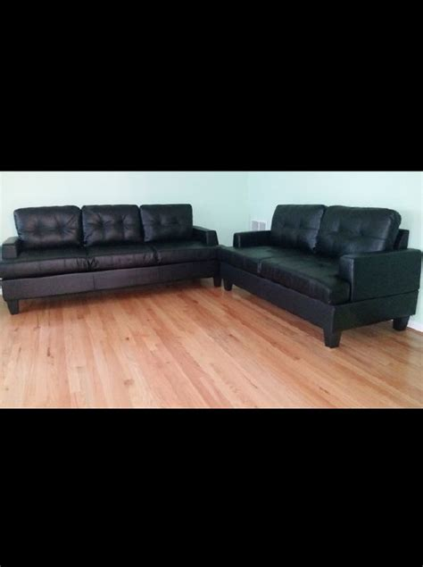 black leather sofas  sale  greenville sc offerup
