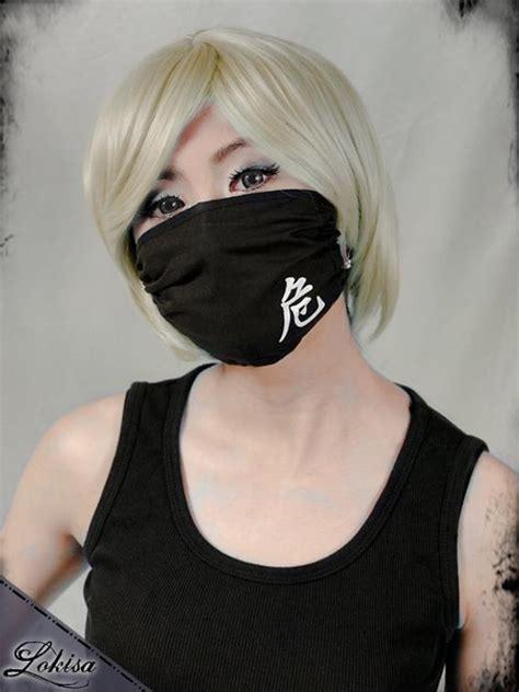 fashion kanji mask dust mask surgical mask  lokisafashion