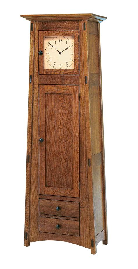 amish  grandfather clock