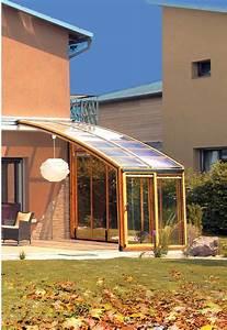 Abri De Terrasse Rideau : abri de terrasse coulissant v randa r tractable par ~ Premium-room.com Idées de Décoration